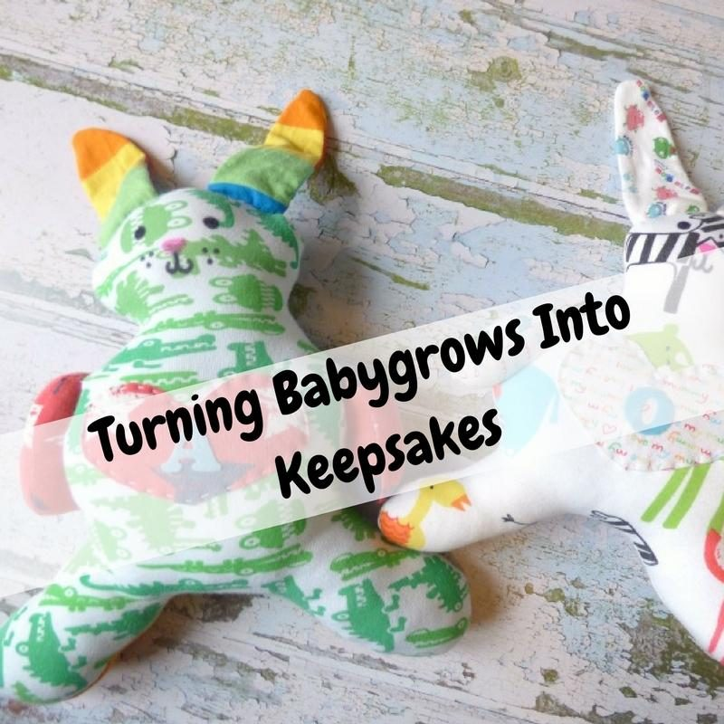 Turning Baby Clothes Into Keepsakes