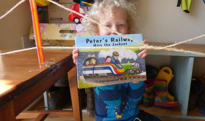Peter's Railway book