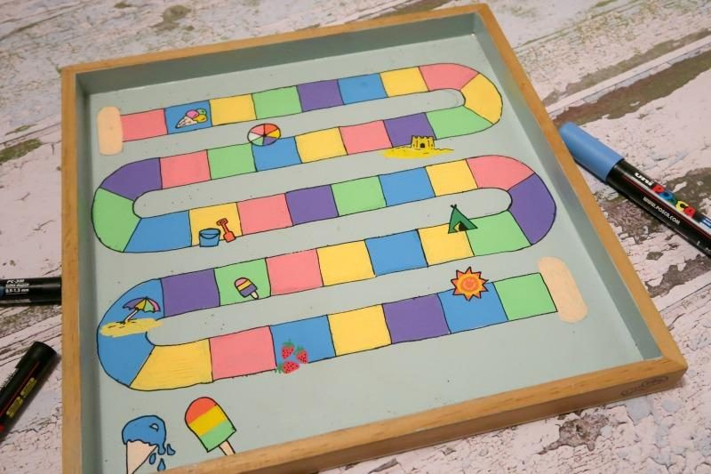kids game board