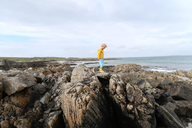 rock climbing tiree