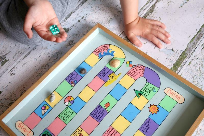 DIY kids game board