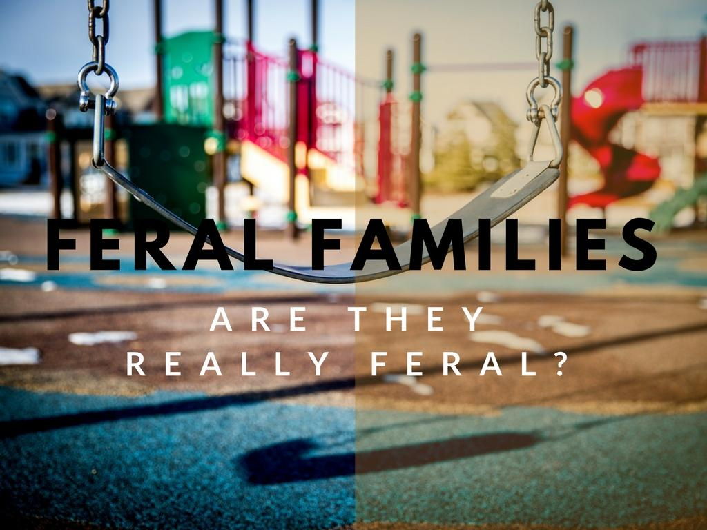 Are The 'Feral Families' Really So Feral?