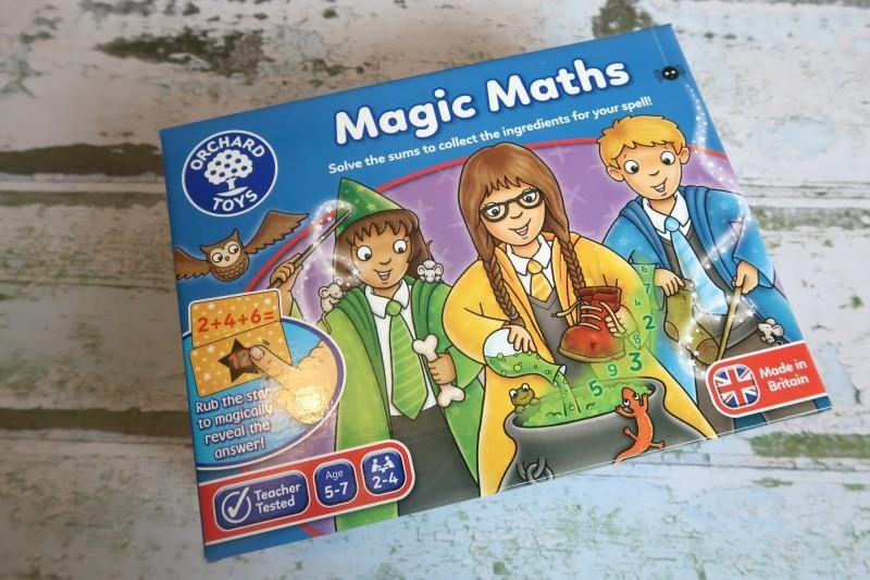 Orchard toys maths game