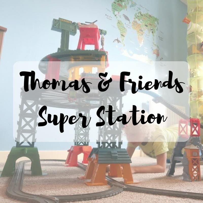 thomas and friends super station instructions