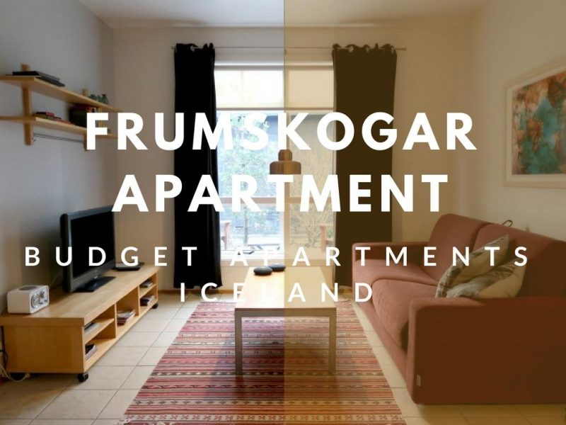 budget apartment iceland