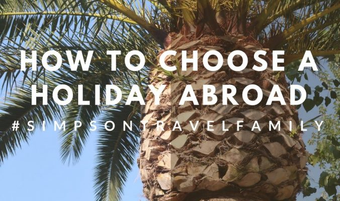 what to look for family holiday