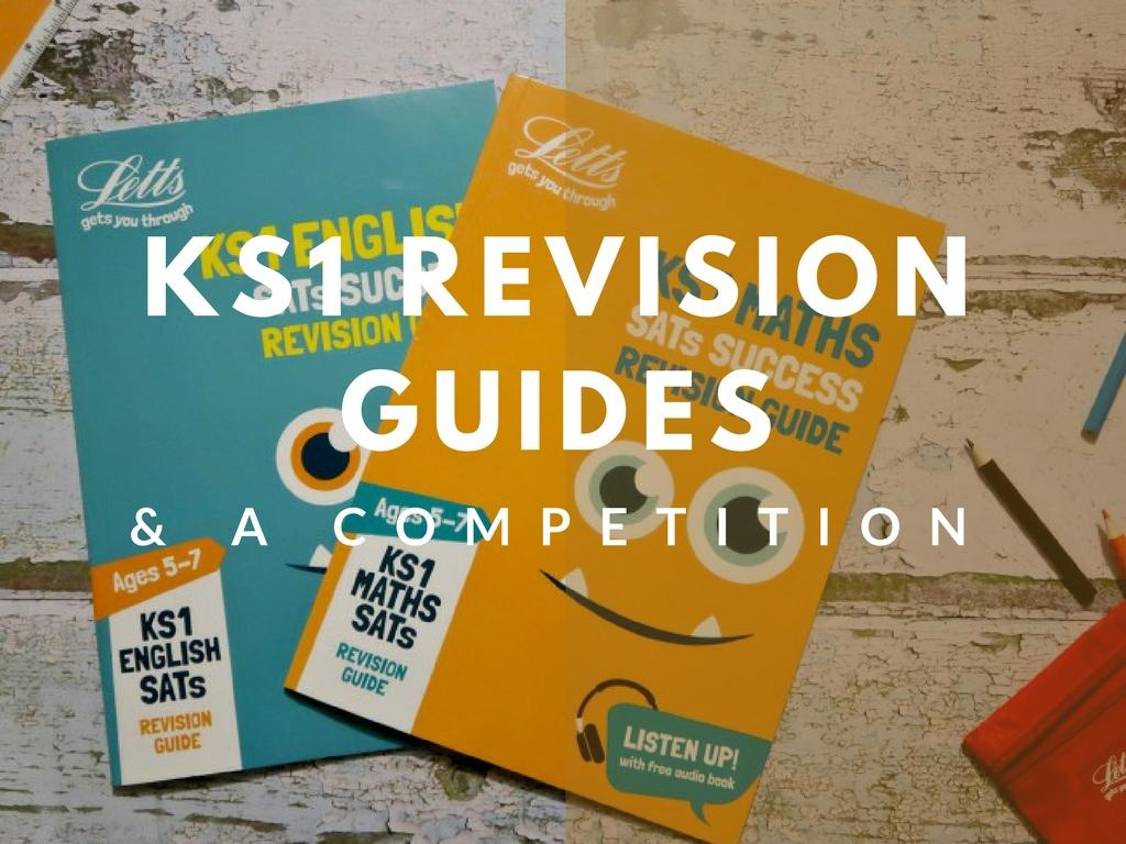 Letts KS1 Revision Guides and COMPETITION