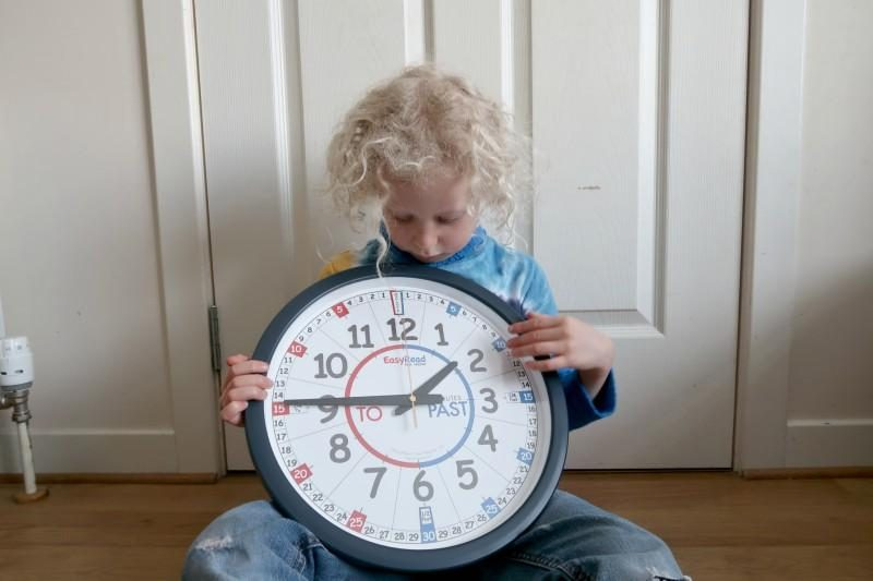childrens learning clock
