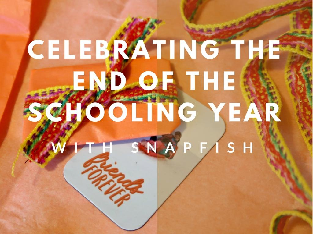 Celebrating The End Of The Schooling Year With Snapfish