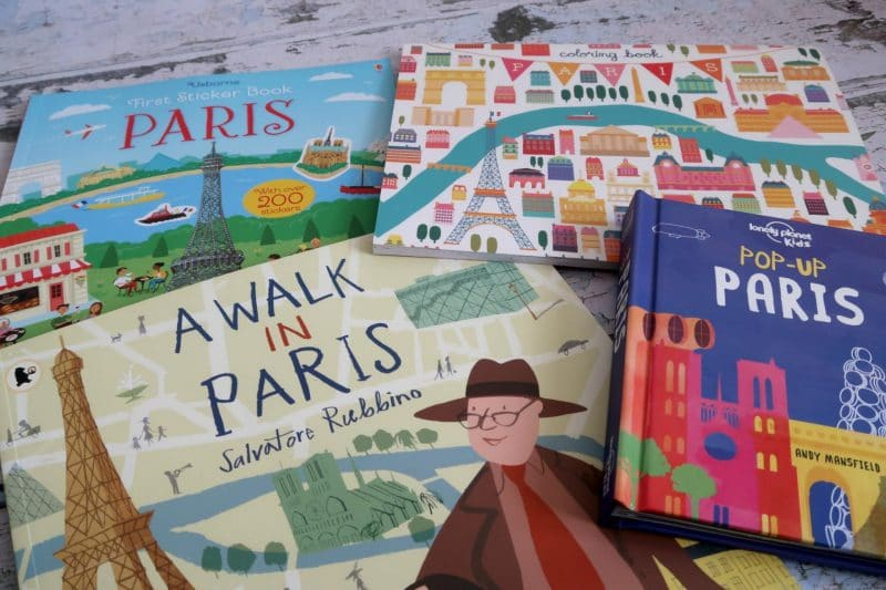 Paris books for kids