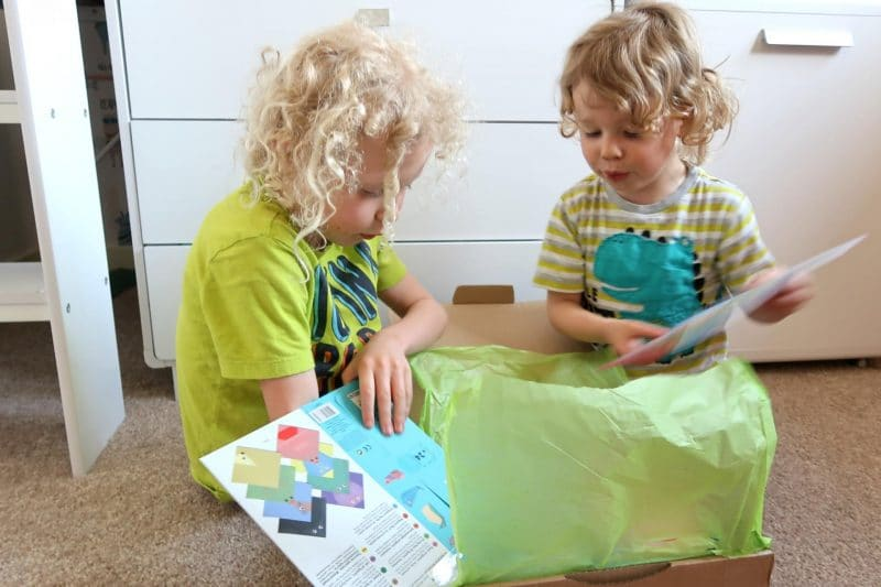 unboxing kids box
