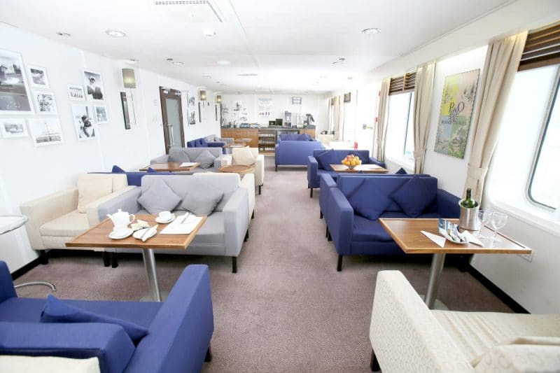 lounge on P&O ferry