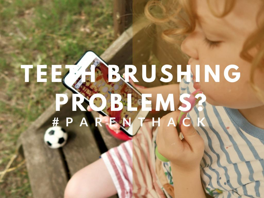 Teeth brushing Problems? #Parentinghack