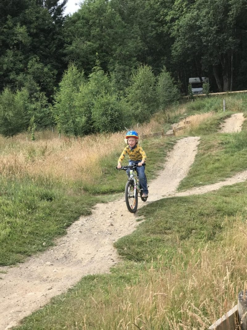 health benefits of camping with bikes