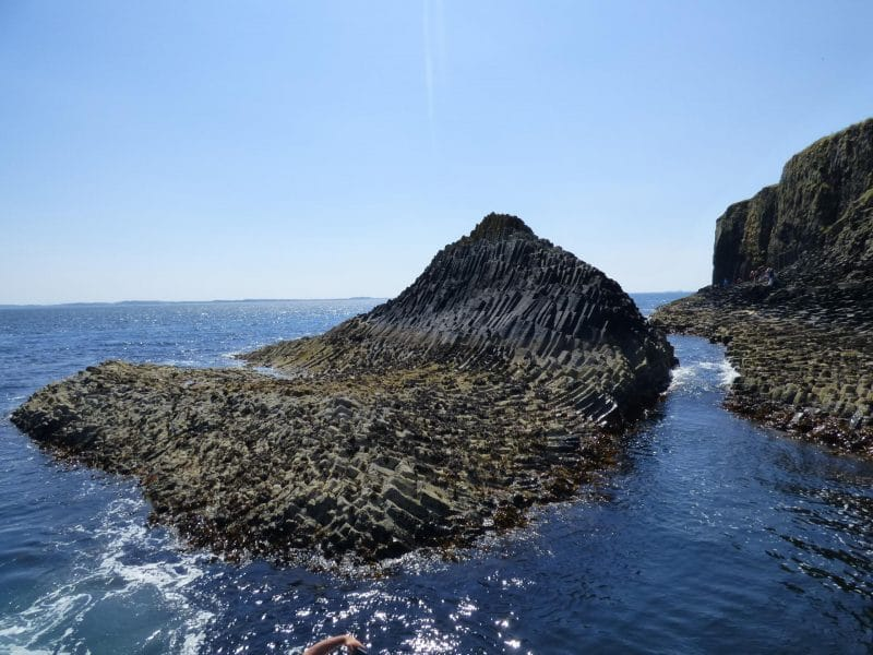 rocks on Staffa