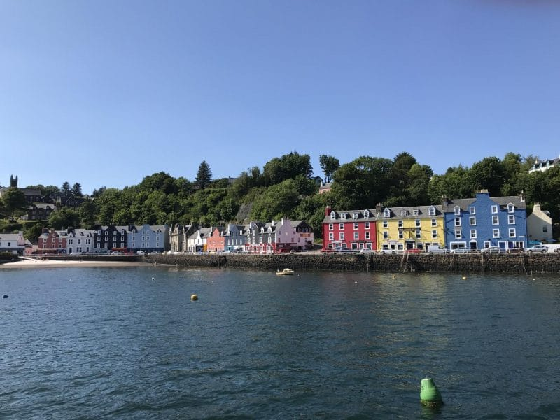 Tobermory colourful houses