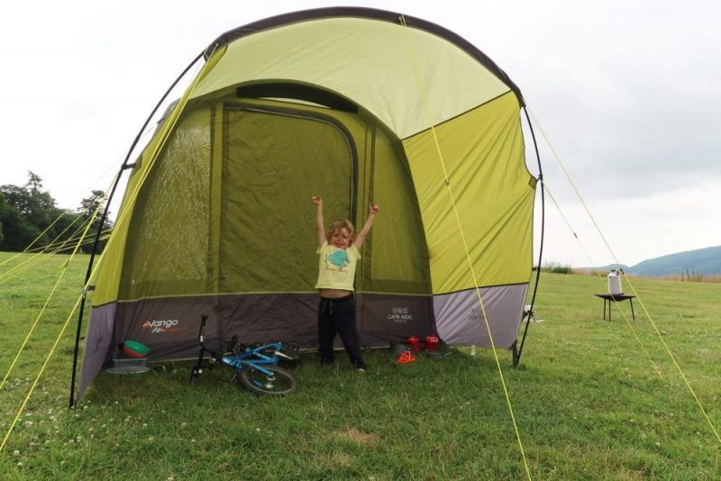 Vango airbeam tent capri 400xl review