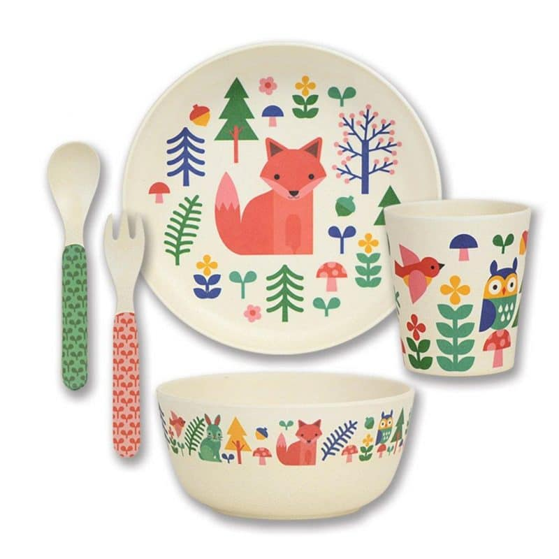 fox crockery set