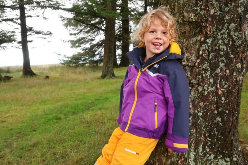 ski jackets and trousers