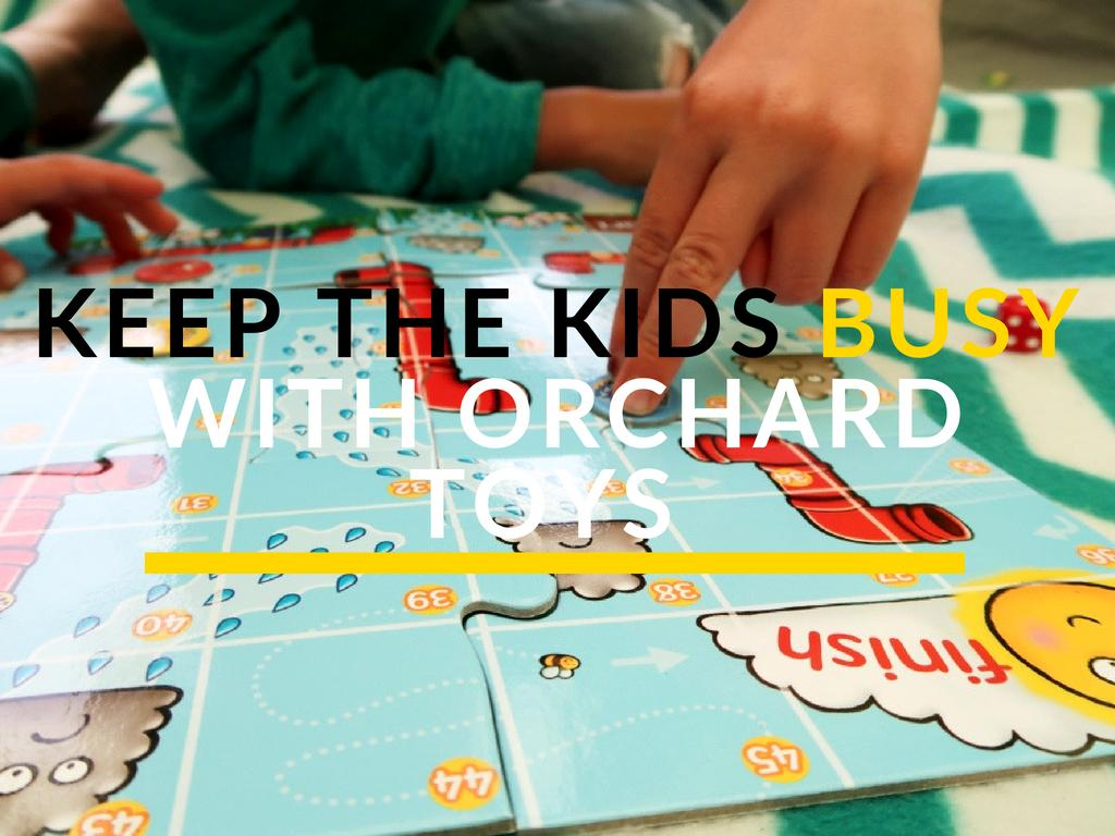 Keep The Kids Busy With Orchard Toys Mini Games