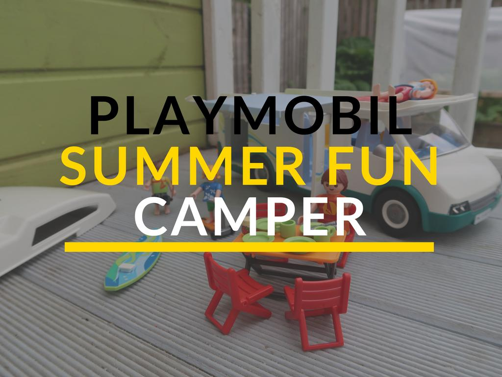 Playmobil Summer Fun Camper Review
