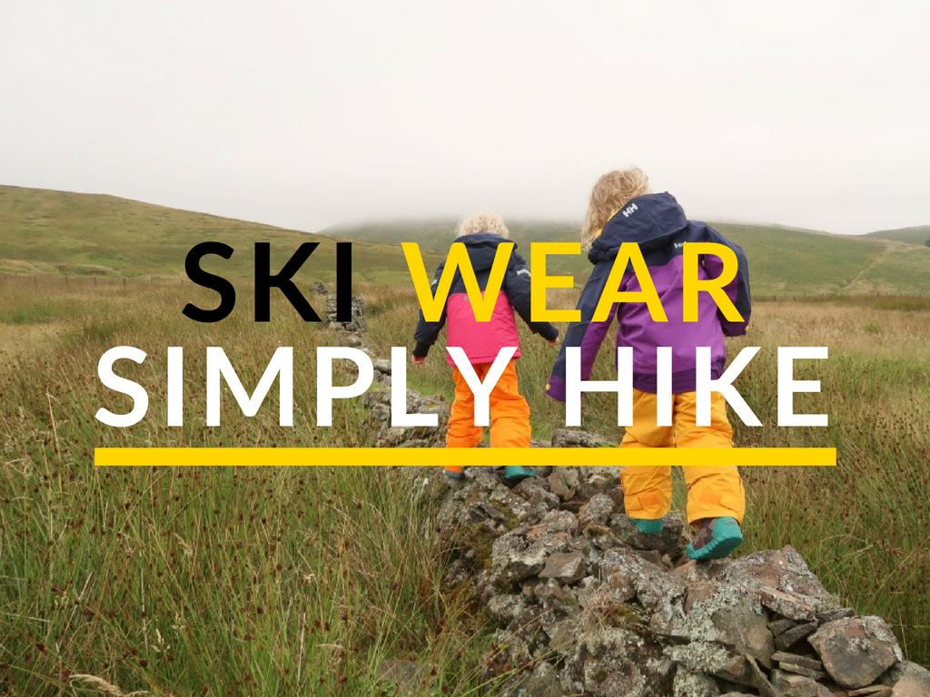 Simply Hike Ski Wear