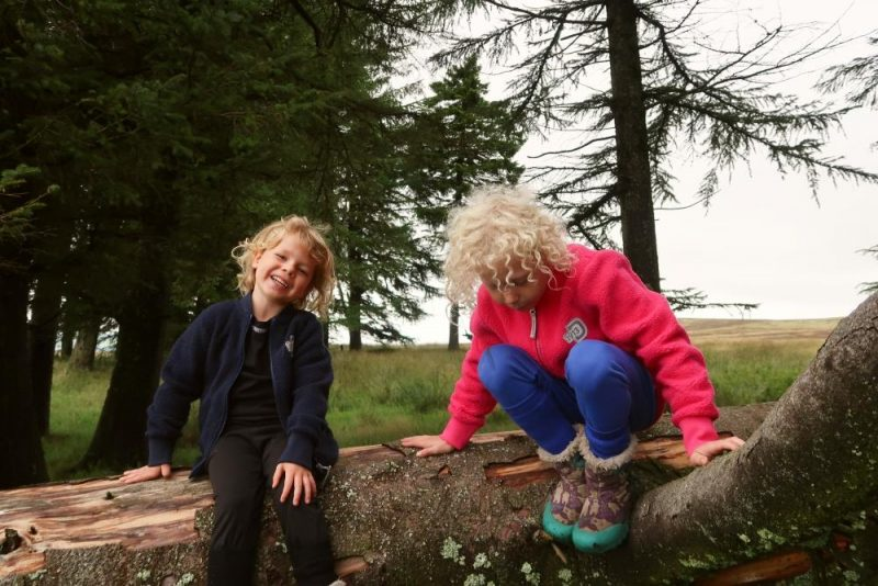 children with thermals