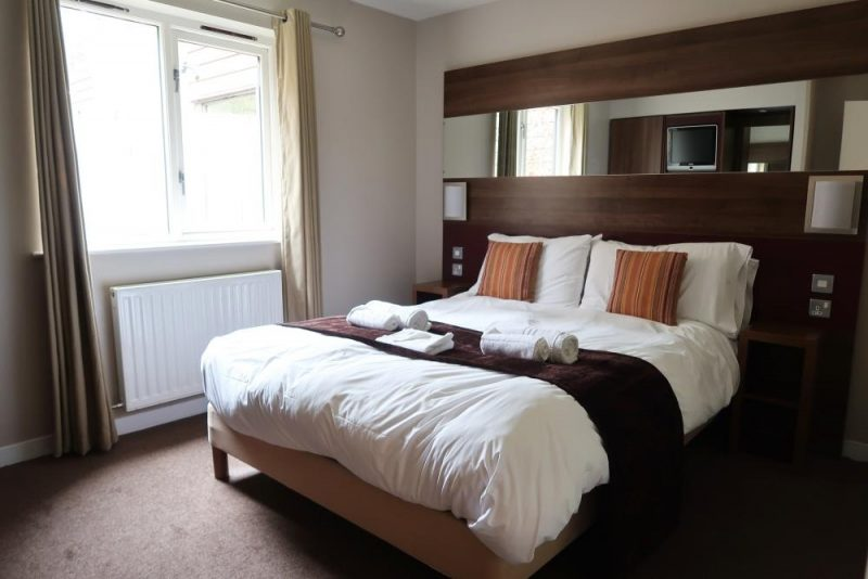 Whinfell Forest double bedroom bilberry wood