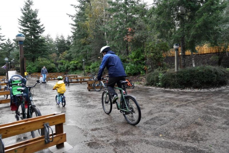 bike hire center Parcs