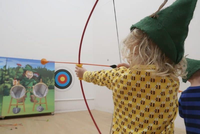 archery at Center Parcs Whinfell