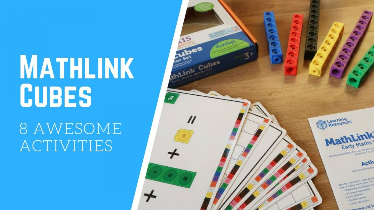 8 Activities For Mathlinks Cubes From Learning Resources