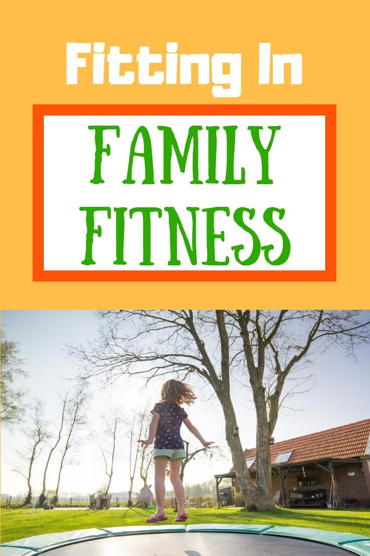 getting fit with family