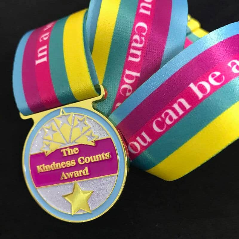 kindness counts medal