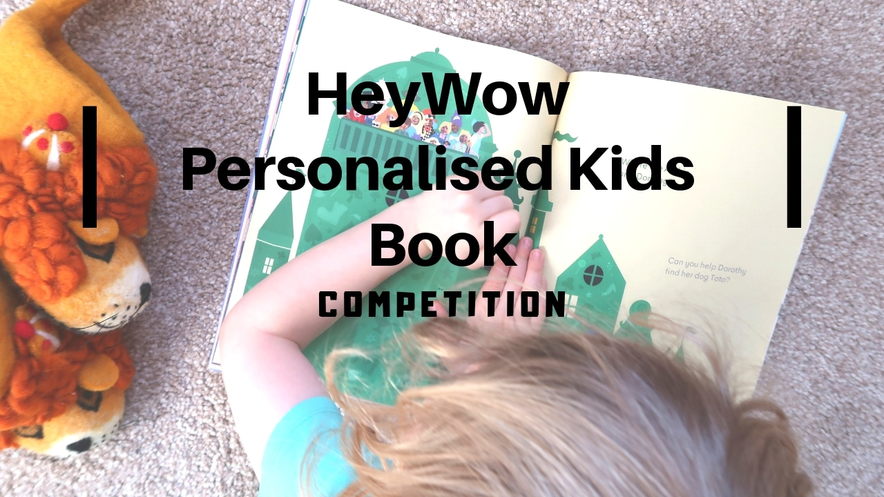 HeyWow Personalised Kids Book And Competition