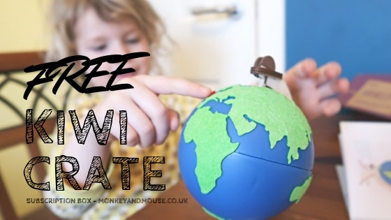 Kiwi Crate Subscription Box FREE Crate!