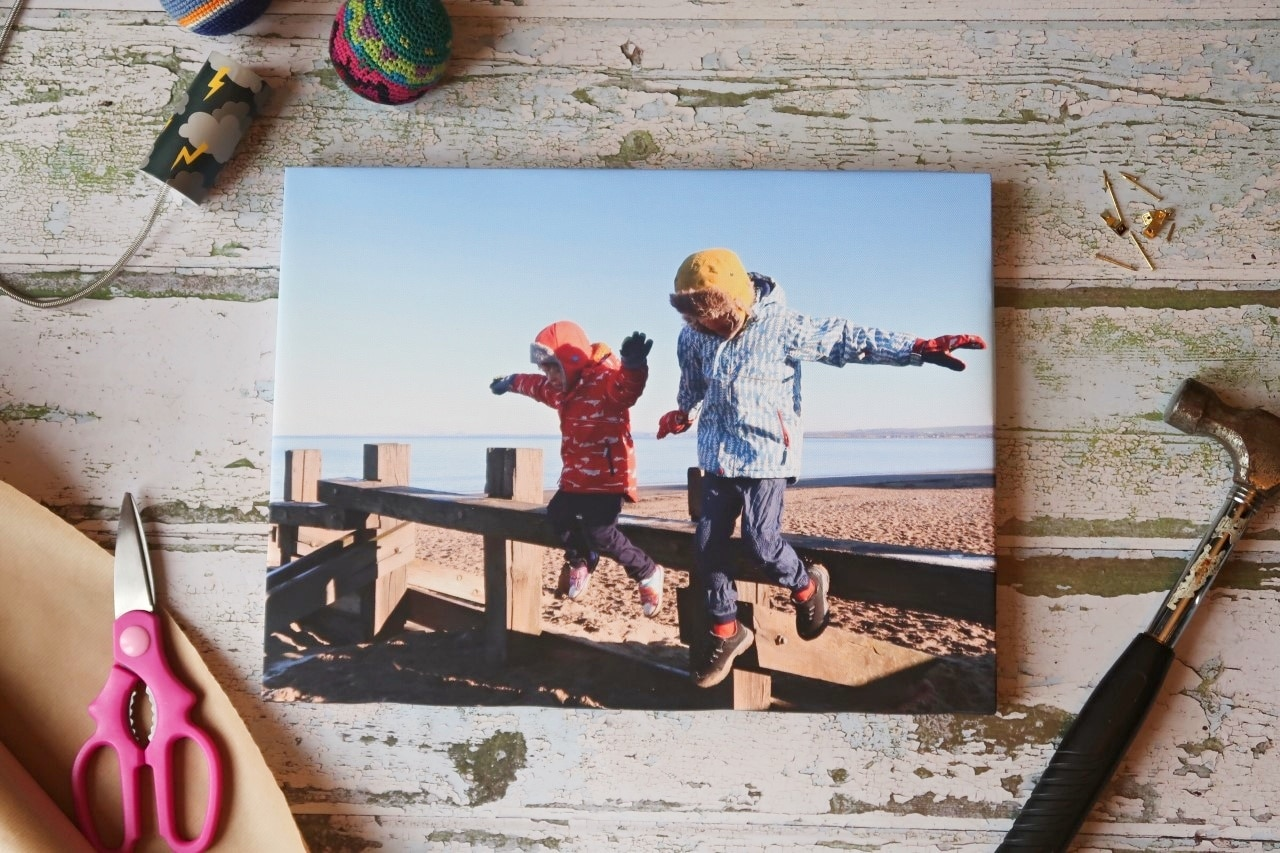 photo on canvas gift