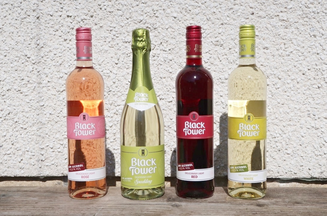 Low alcoholic wines