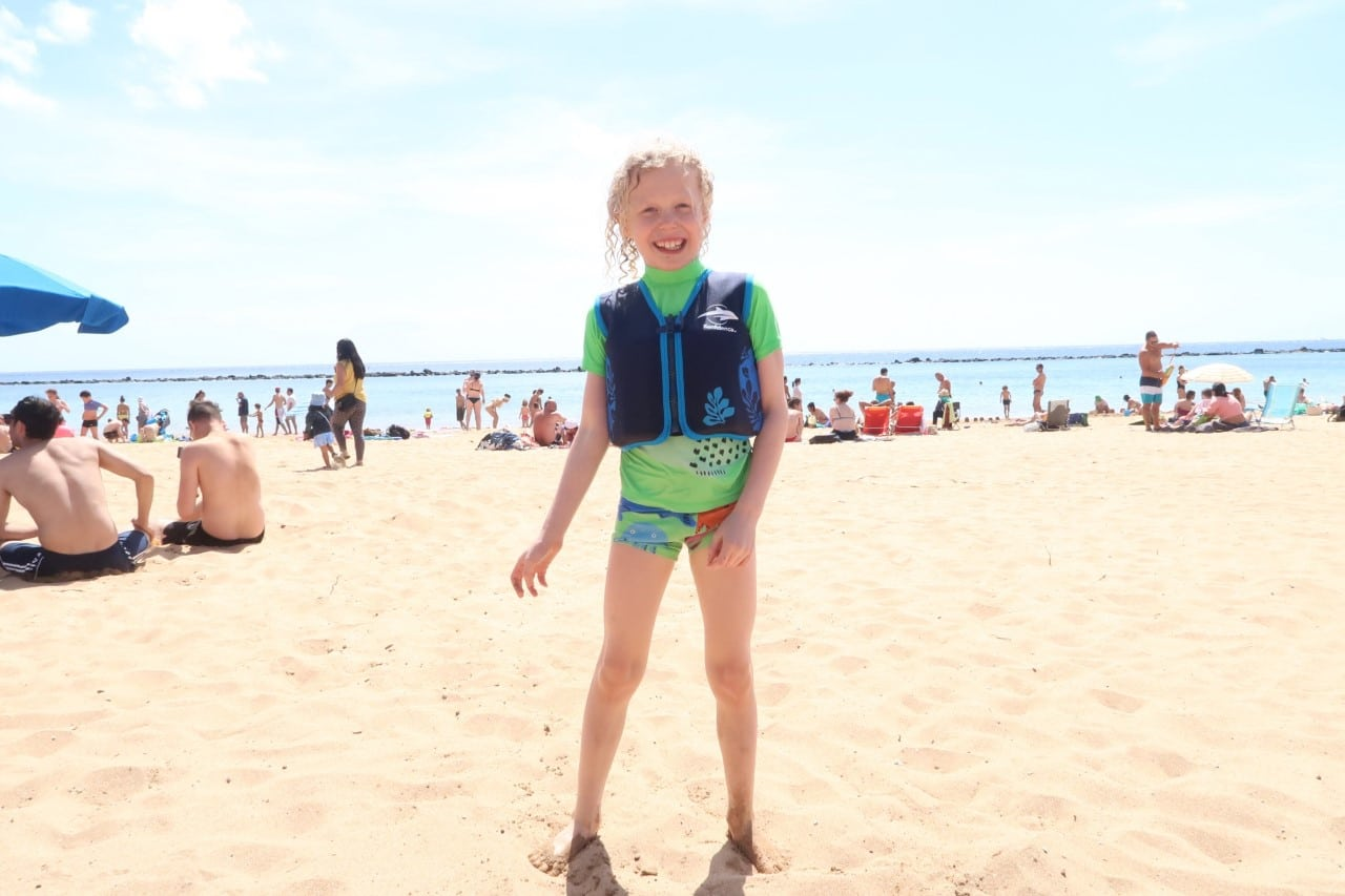 kids swim flotation jacket