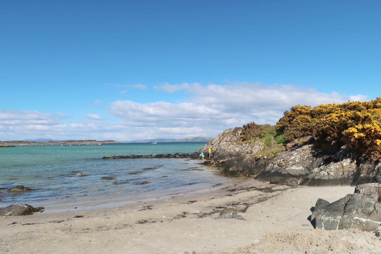 beach at Gigha
