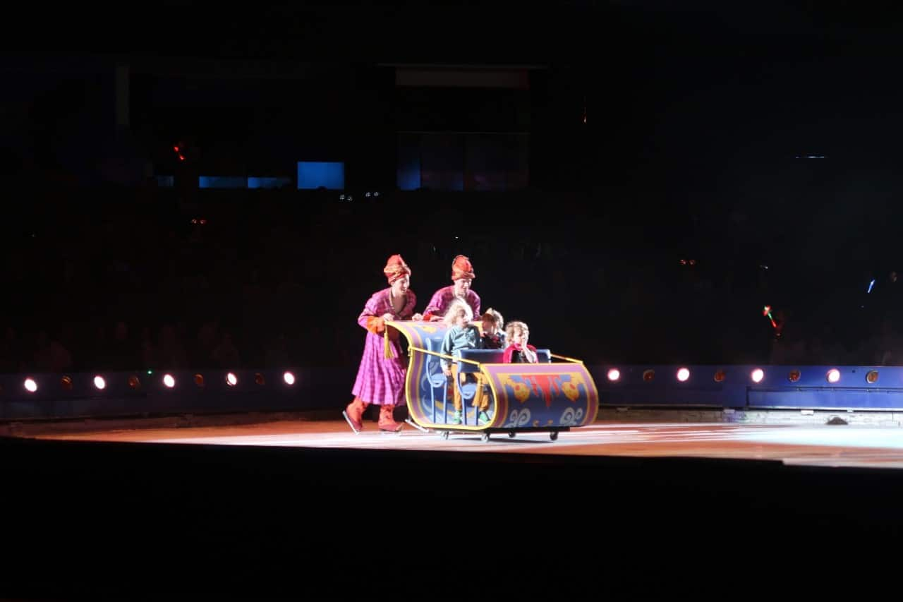 ice ride disney on ice