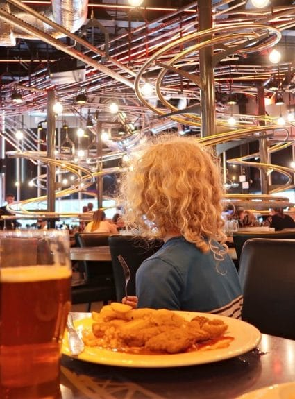 When Your Food Is Delivered On Rails! The Rollercoaster Restaurant Review