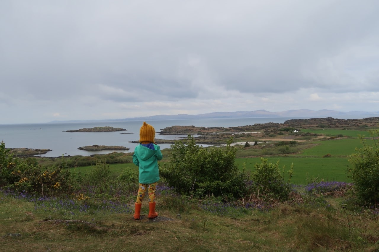 view to Islay from Gigha