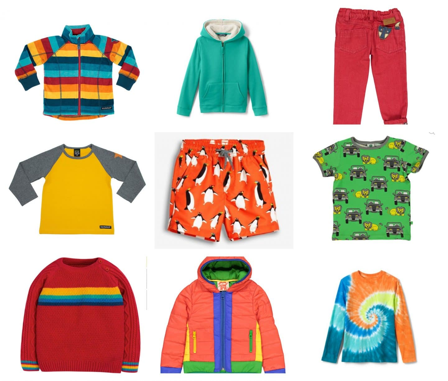 bright boys clothes