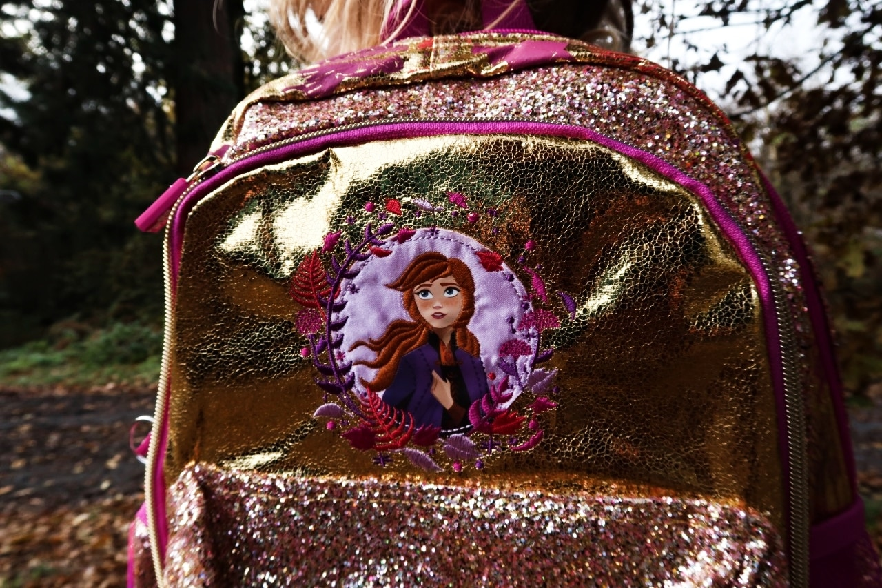 Frozen 2 bag close up