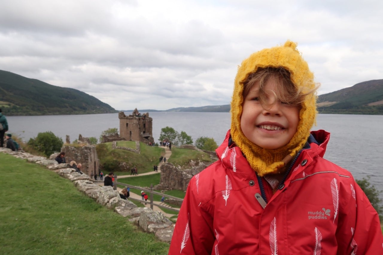 Loch Ness and Urqhuart castle