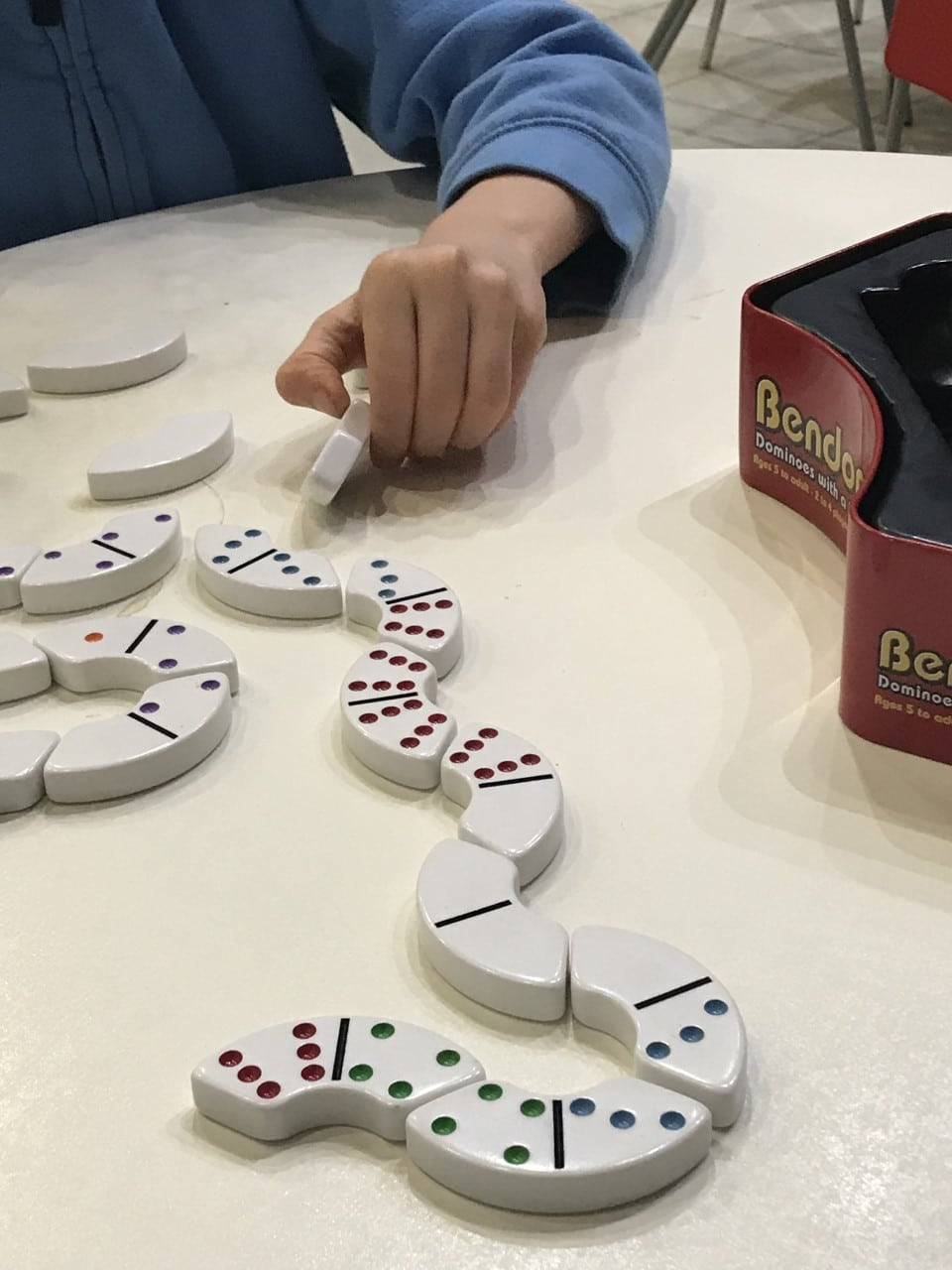 playing bendominoes
