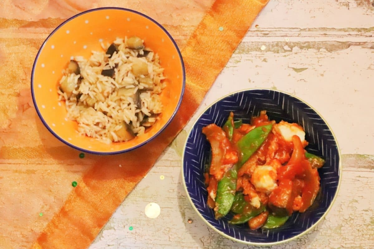 chinese fish mancurian meal