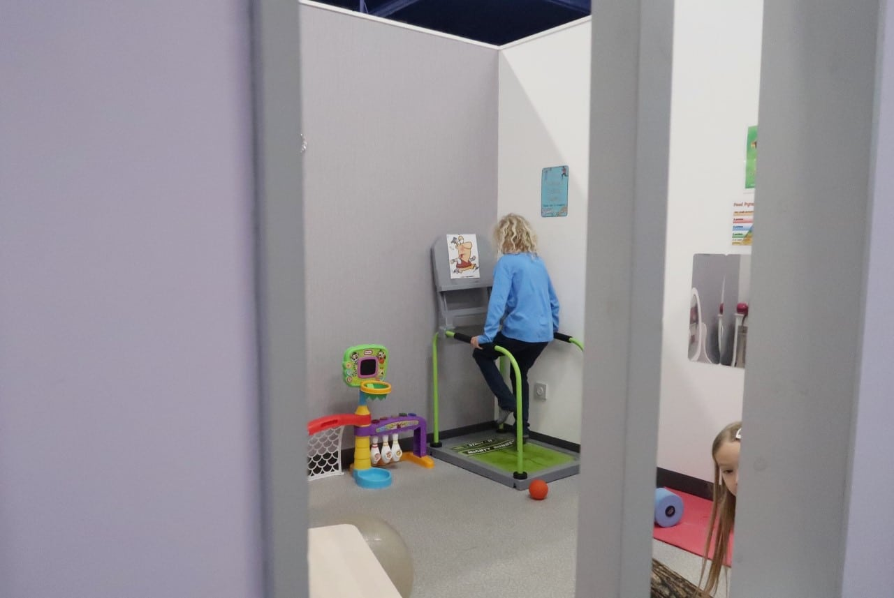 childrens indoor play area Kidz Town Stirling
