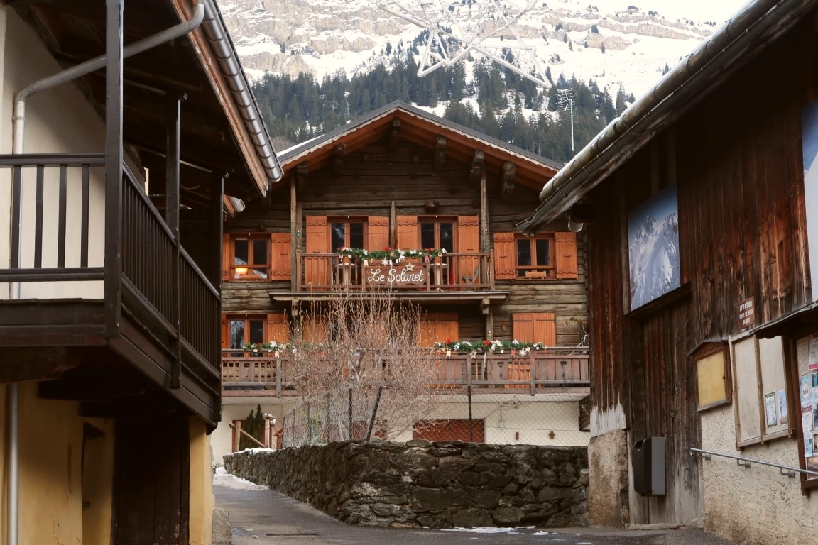 French Alps chalets