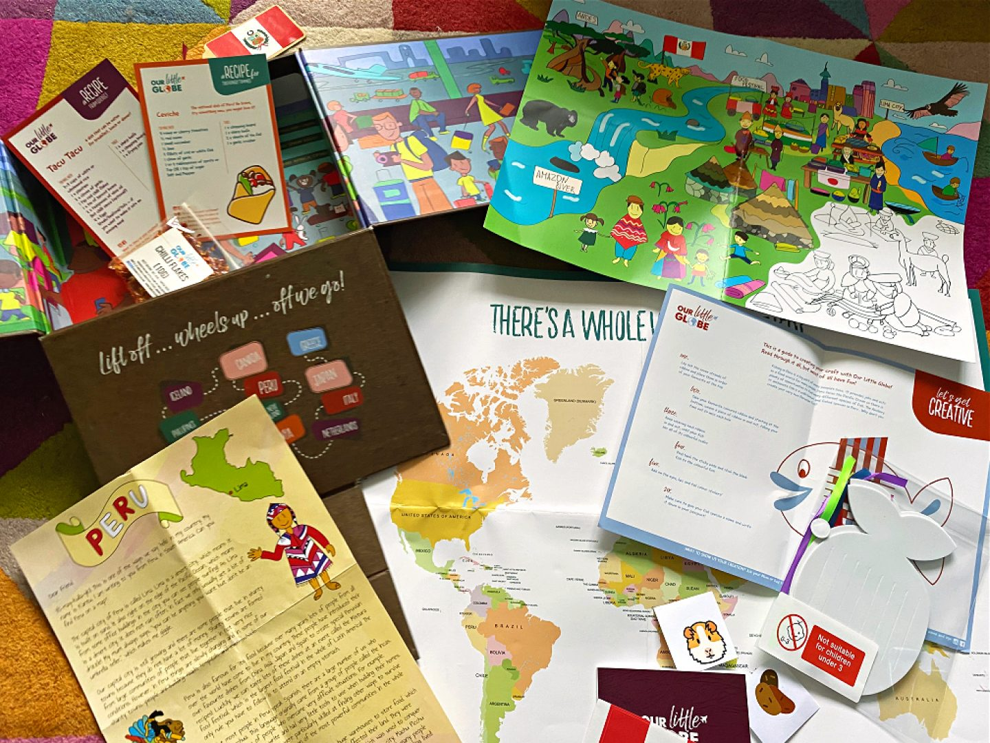 Our little Globe subscription box review